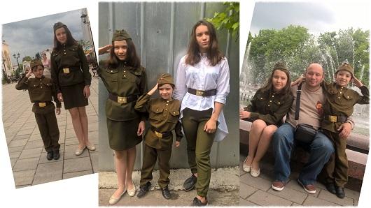 Наталья Ашолова работа «Самый главный праздник»