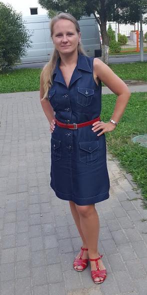 Ольга Кожухова работа «Модель с обложки»