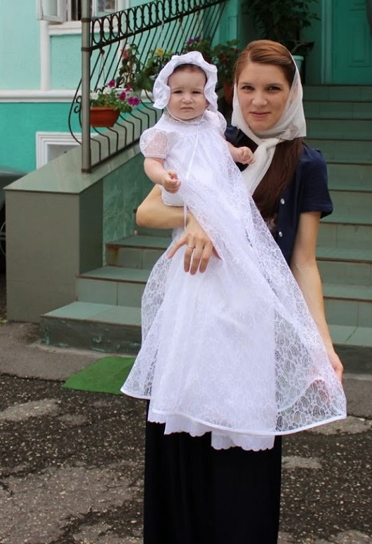 Марина Федорова работа «Крестильный наряд!»