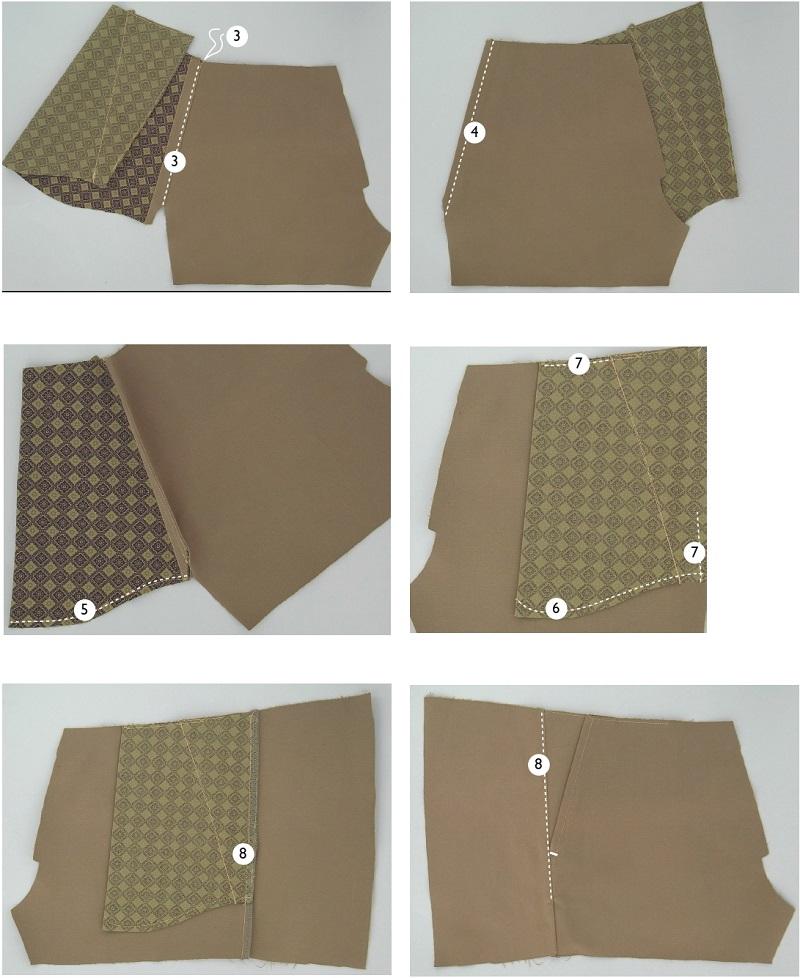 Передний брючный карман выкройка оттобре