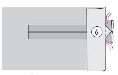 Прорезной брючный карман с двойной листочкой выкройка оттобре