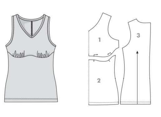Регулировка размера чашечек одежды оттобре