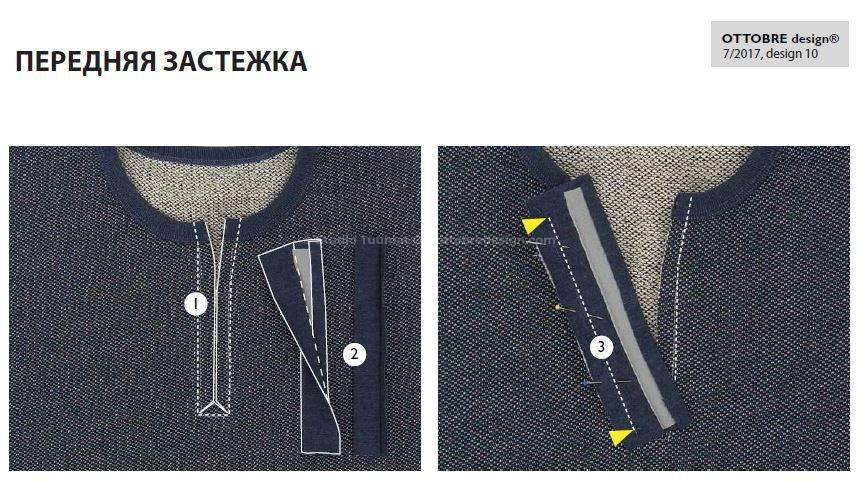 передняя застежка выкройка